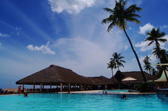 Viva Wyndham Dominicus Beach: pools in French quarter