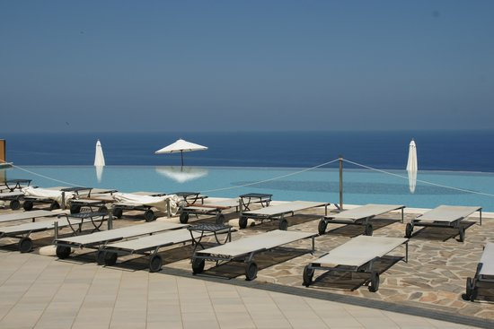 Hotel Avalon Sikanì: La piscine