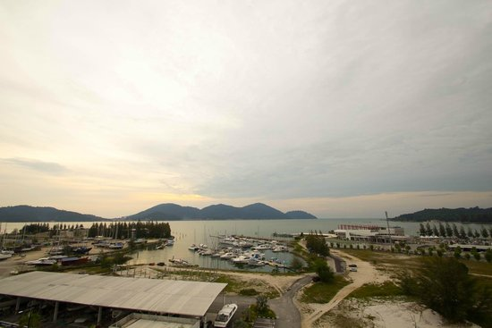 Marina Island Pangkor Resort & Hotel : view from balcony