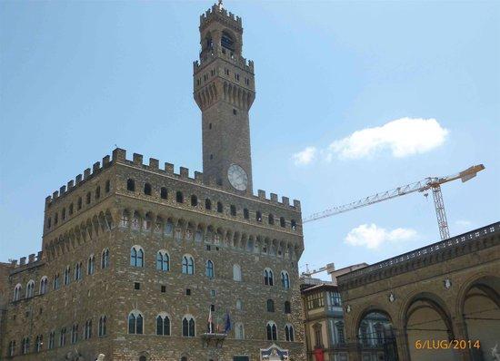 Piazza della Signoria: Palazzo Vecchio e Loggia della Signoria