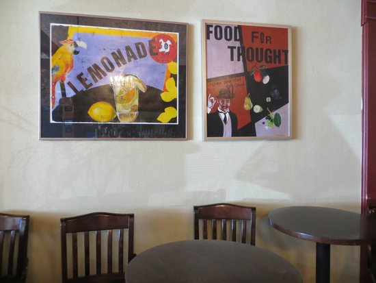 Sweet Melissa Cafe: Deko