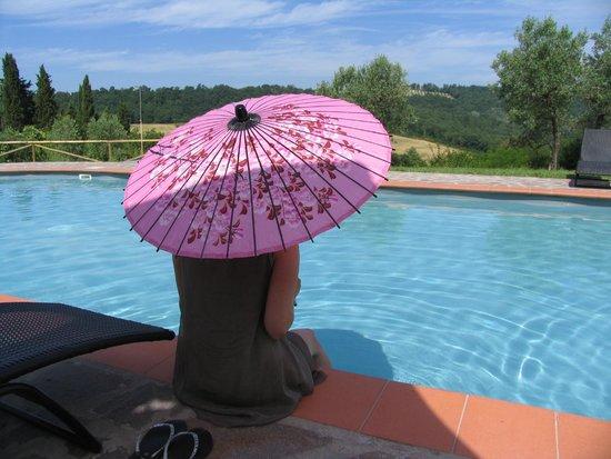 Il Paretaio : Un po' di relax in piscina tra una lezione e l'altra