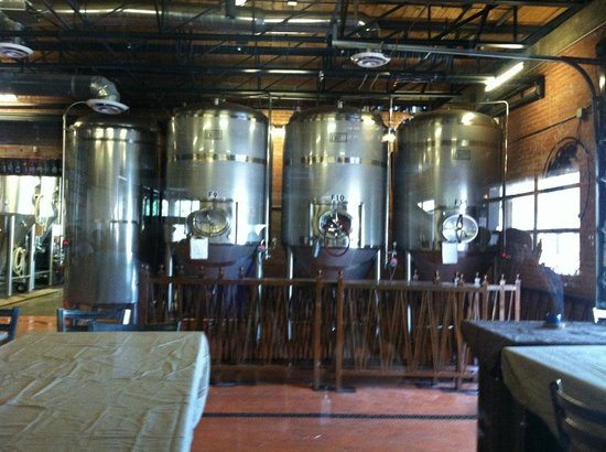 SanTan Brewing Co.: Beer vats