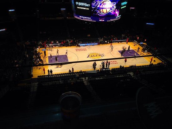 Staples Center: Lakers x Bulls