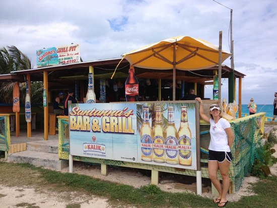 Augusta Bay Bahamas : Great place to eat..