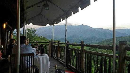 The Restaurant at Buckberry Creek: view from the patio