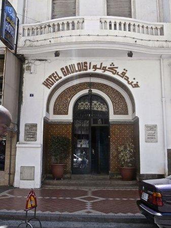 Hotel Le Gaulois : Front Entrance