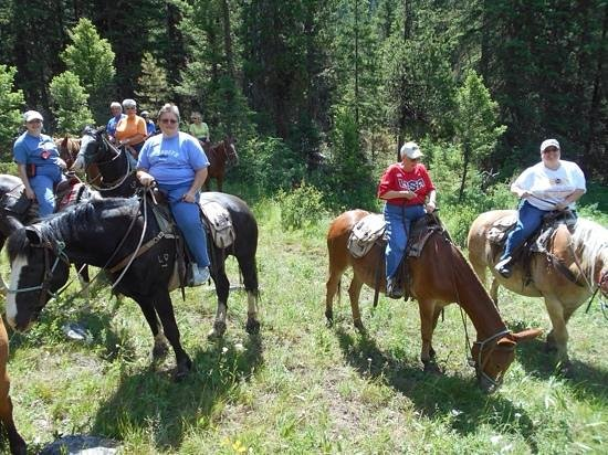 Montana Whitewater Raft Company: Riding Hell roaring trail with Montana whitewater paddle and saddle