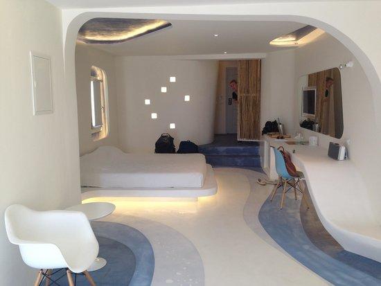 Andronikos Hotel Mykonos: Blue lagoon room