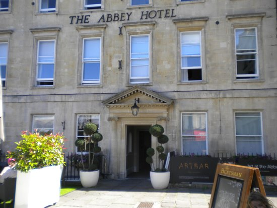 The Abbey Hotel: Hotel front
