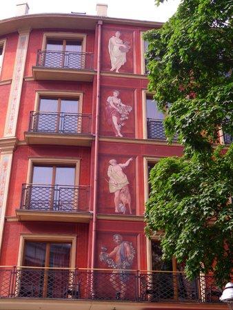 SensCity Hotel Albergo: von aussen