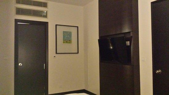 Ascott Kuala Lumpur: 卧室一角