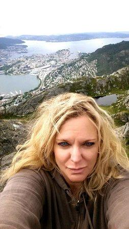 P-Hotels Bergen : On Bergen's Highest Mountain