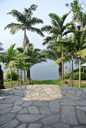 LaBella Lodge: View from the Restaurant