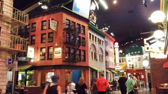 New York - New York Hotel and Casino: Greenwich Village inside the hotel