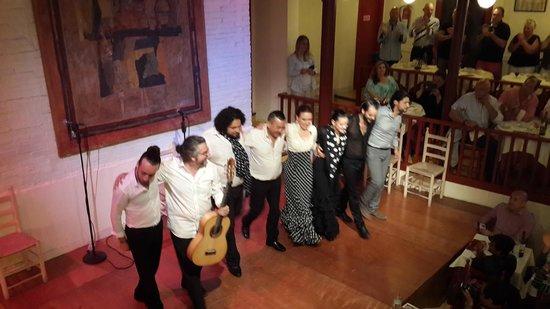 El Tablao de Carmen: Les animateurs de la soirée