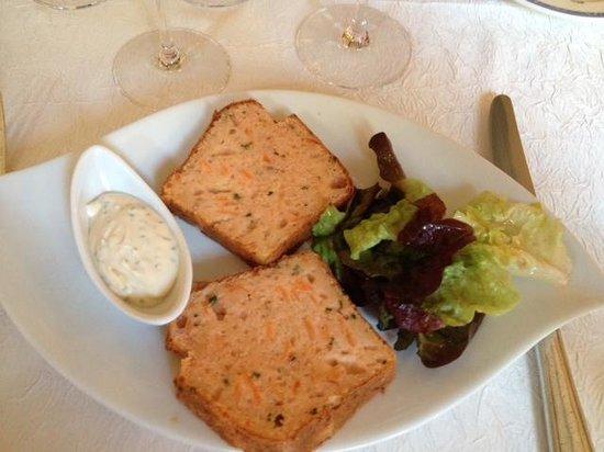 La Vieille Tour: Cake au saumon