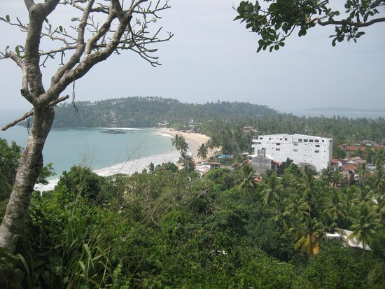 Dream Palace Family Guest House: view Mirissa