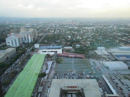 Marco Polo Ortigas Manila: view from my Premiere room
