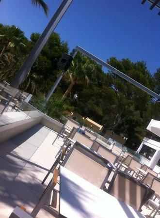 Sun Club El Dorado: Bar Terrace