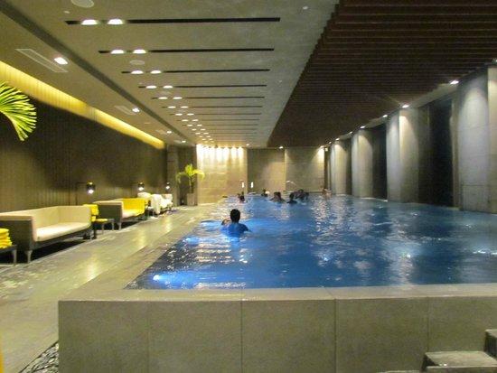 Indoor Pool Picture Of Marco Polo Ortigas Manila Pasig Tripadvisor