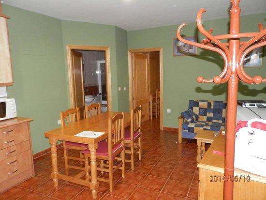 Apartamentos Arquillo: living area