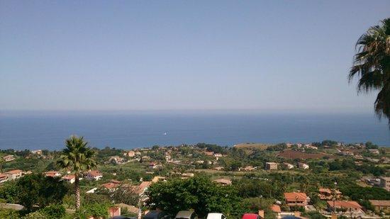 Orizzonte Blu di Tropea Hotel: Il panorama diurno