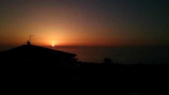 Orizzonte Blu di Tropea Hotel: Il panorama serale