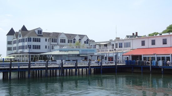 Shepler's Mackinac Island Ferry: View from the dock.