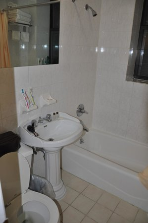 Hotel St. James: baño
