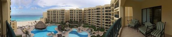 The Royal Sands Resort & Spa All Inclusive : Panarama balcony and view