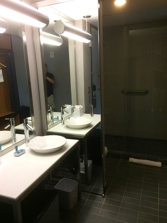 Aloft Houston by the Galleria: BATHROOM - no door!