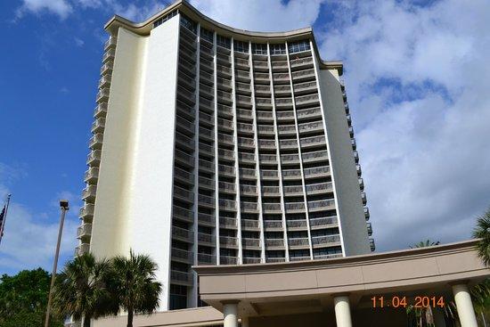 BEST WESTERN Lake Buena Vista Resort Hotel: Front of Best Western Hotel
