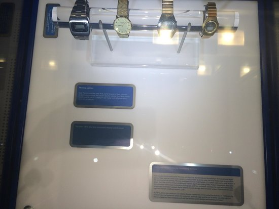 Intel Corp and Museum: Intel made watches in 1972