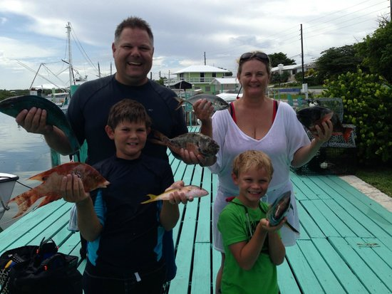 Bahamas Ocean Safaris : Family Catch (just part of it!)