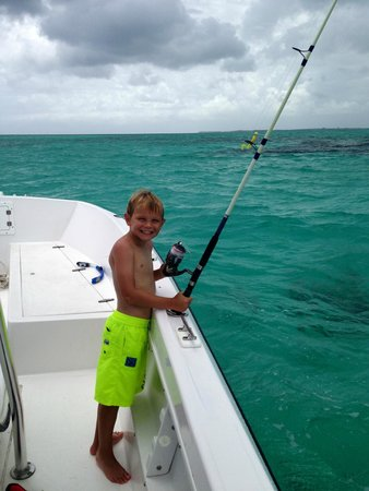 Bahamas Ocean Safaris: Son fishing