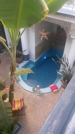 Riad Aloès : piscina-jacuzzi muy recomendable para recuperarte