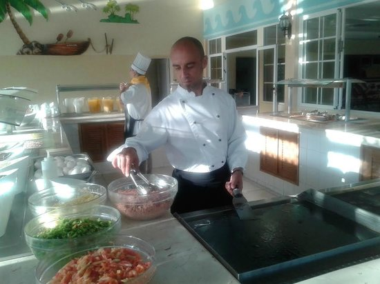Memories Varadero Beach Resort: Chef Ivan de Crespo