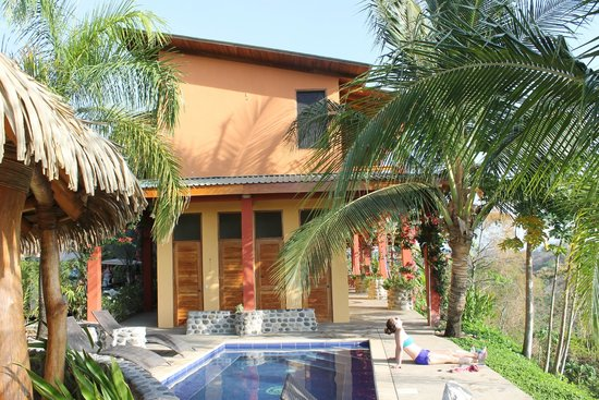 Costa Rica Yoga Spa: Exterior view from pool.
