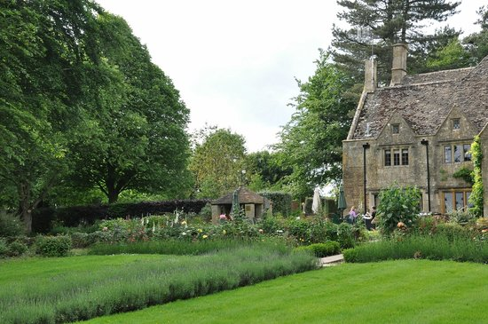 Charingworth Manor: view from the garden