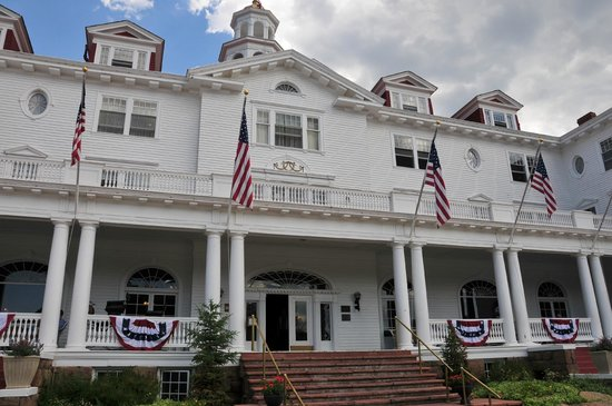 Stanley Hotel : Main entrance