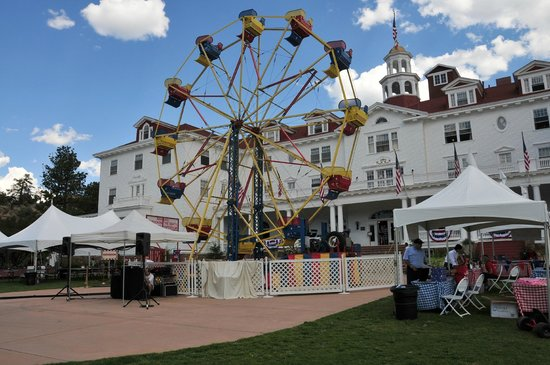 Stanley Hotel : Ferris wheel for the 4th weekend