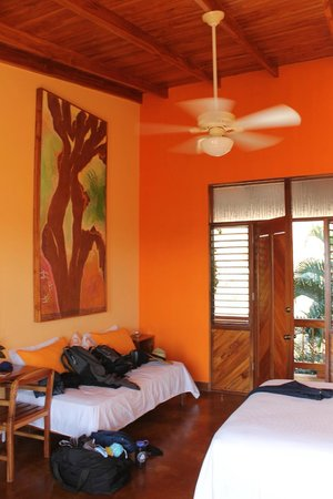 Costa Rica Yoga Spa: View of suite.