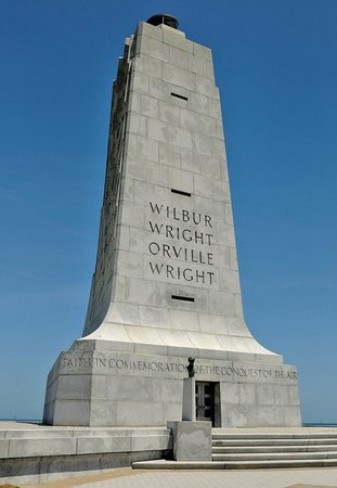 Wright Brothers National Memorial: Wright Brothers Memorial, front view