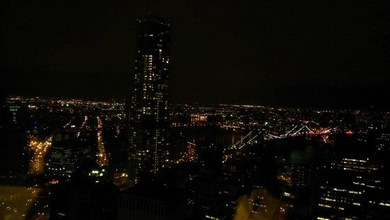 Millenium Hilton: View from the 53rd floor window.