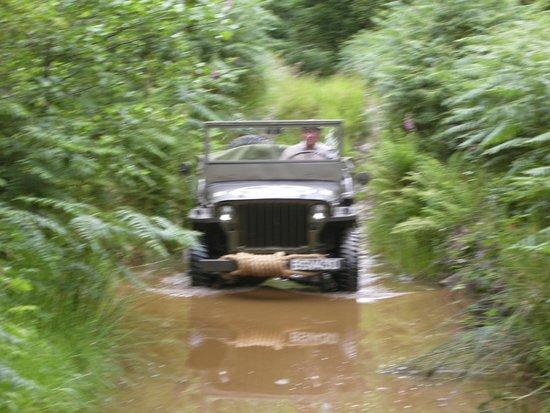 Llanerchindda Farm: Off roading