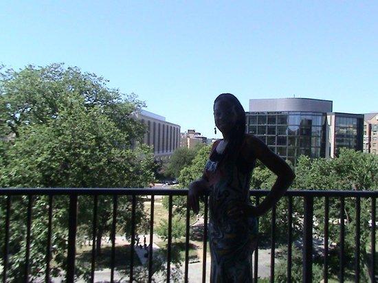 One Washington Circle Hotel: View from Balcony