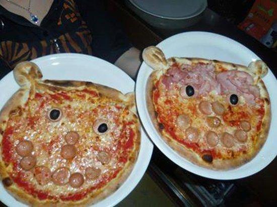 Conosciuto Pizza orsetto!!!Ideale per bambini!!! - Foto di Al Caminetto  NK73