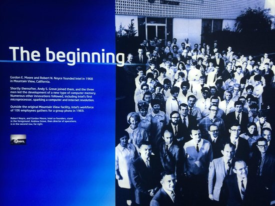 Intel Corp and Museum: How it all began