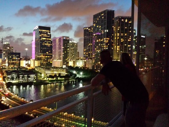 Mandarin Oriental, Miami : Miami bei Nacht